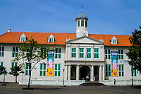 Indonesia, Java, Jakarta. The Jakarta History Museum is located in the Old Town (known as Kota).