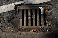 Maintenance Hole- and Drain Covers of Wirral by Colin McPherson, 2020-21.<br /> <br /> A gully cover manufactured by Doulton of London, a company which was based in the Vauxhall or Lambeth area of the capital, but which no longer trades.