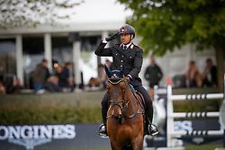 Chimirri Bruno, ITA, Tower Mouche<br /> FEI Nations Cup of Belgium<br /> CSIO Lummen 2017<br /> © Hippo Foto - Dirk Caremans<br /> 28/04/2017