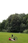Berlin , relaxing in the park