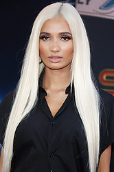 Pia Mia at the World premiere of 'Spider-Man Far From Home' held at the TCL Chinese Theatre in Hollywood, USA on June 26, 2019.