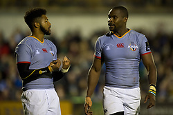 September 9, 2017 - Galway, Ireland - Kurt Coleman (L) and Luzuko Vulindlu of S.Kings during the Guinness PRO14 rugby match between Connacht Rugby and Southern Kings at the Sportsground in Galway, Ireland on September 9, 2017  (Credit Image: © Andrew Surma/NurPhoto via ZUMA Press)