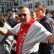AFC Ajax supporters march in central London, UK