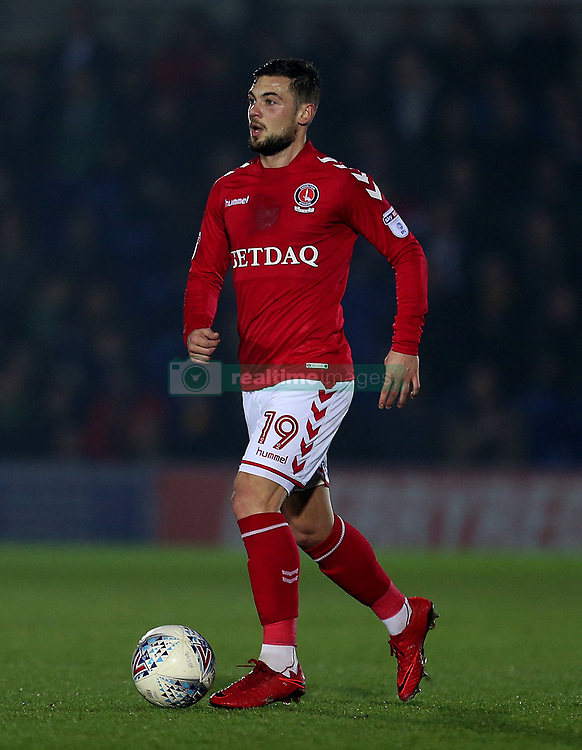 Charlton Athletic's Jake Forster-Caskey in action