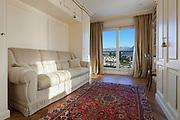 Interior, comfortable living room with furniture classic design