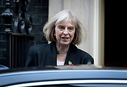 © London News Pictures. 30/10/2012. London, UK.    Home Secretary Theresa May MP Leaving 10 Downing street after a cabinet meeting on October 10, 2012. Photo credit: Ben Cawthra/LNP