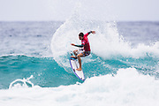 Liam O'Brien of Australia advances directly to Round Three of the 2018 Jeep World Junior Championship after winning Heat 8 of Round One at Kiama, NSW, Australia. . FOR EDITORIAL NEWS USE ONLY