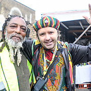 Hundreds of watching the procession of the annual Hackney Carnival 2018 parade on 9th September 2018, London, UK