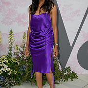 Jackie St Clair arrives at V&A - summer party, on 19 June 2019, London, UK