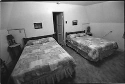 Wigwam Motel Holbrook Arizona on 23 March 2008. Shoot on Kodak TMax 3200 B&W Film. Nikon Camera F Body.