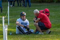 DIBOWSKI Andreas (GER), MELZER Hans (Bundestrainer)<br /> Luhmühlen - LONGINES FEI Eventing European Championships 2019<br /> Impressionen Zieleinlauf<br /> Geländeritt CCI 4*<br /> Cross country CH-EU-CCI4*-L<br /> 31. August 2019<br /> © www.sportfotos-lafrentz.de/Tanja Becker