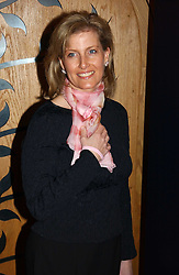 HRH The COUNTESS OF WESSEX at a party attended by HRH The Countess of Wessex to celebrate the 5th birthday of Breast Cancer Haven's - The London Haven, Effie Road, London on 10th February 2005.<br />