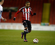 Leon Clarke of Sheffield Utd during the English League One match at Bramall Lane Stadium, Sheffield. Picture date: April 5th 2017. Pic credit should read: Simon Bellis/Sportimage
