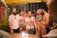 Hussein's birthday celebrated in Taksim, Istanbul. He was refused a Schengen visa on the same day (the day before supposedly departing), and won't be able to attend the Mr Gay World 2016 competition in Malta.