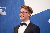 Actor Sebastian Van Dun at the Home film photocall at the 73rd Venice Film Festival, Sala Grande on Saturday September 3rd 2016, Venice Lido, Italy.