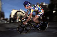Sykkel. Paris - Nice 2002. 10.03.2002.<br /> Laszlo Bodrogi fra Ungarn.<br /> Foto: Franck Faugere, Digitalsport