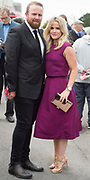 29/07/2017  Shane Lowry and his wife Wendy on Plate day of the Galway Races.   Photo:Andrew Downes, xposure