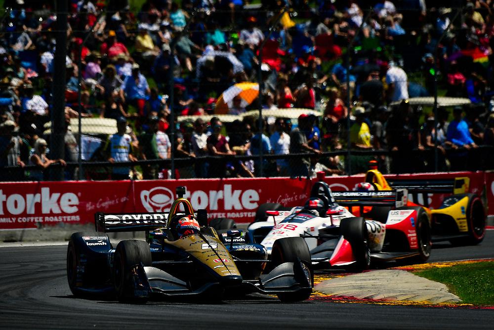 James Hinchcliffe, Schmidt Peterson Motorsports Honda<br /> Sunday 24 June 2018<br /> KOHLER Grand Prix at Road America<br /> Verizon IndyCar Series<br /> Road America WI USA<br /> World Copyright: Scott R LePage