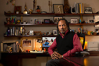 Orlando Bagwell, who as director of a films program at the Ford Foundation led to, among other things, the resurgence of the Sundance documentary program. He's stepping down to make films himself. Photo by Robert Caplin                                 NYTCREDIT: Robert Caplin for The New York Times