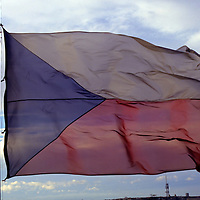 Flag of the Czech Republic.
