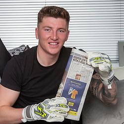 Brechin City goalkeeper Lewis McMinn