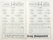 All Ireland Senior Hurling Championship Final,.07.09.1958, 09.07.1958, 7th September 1958,.Minor Galway v Limerick, .Senior Galway v Tipperary, Tipperary 4-09. Galway 2-05,..Galway, M Sweeney, F Spillane, P Burke, S Cullinane, J Duggan, J Fives, F Benson, J Salmon, P J. Lally, T Sweeney, J Young, T Kelly,  P J Lawless, W. O'Neill, T Conway, Subs, E Derrivan, M Glynn, J Conroy, M Fox, T Broderick,..Tipperary, J O'Grady, M Byrne, M Maher, K Carey, J Finn, A Wall (Capt), J Doyle, J Hough, T English, D Nealon, T Larkin, J Doyle, L Keane, L Devaney, L Connolly, M Maher, J McGrath, R Reidy, N Murphy, M Burns,..Advertisement, Irish Independent,