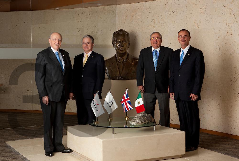 The senior management team, Fresnillo plc.