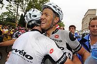 Sykkel<br /> Tour de France<br /> Foto: DPPI/Digitalsport<br /> NORWAY ONLY<br /> <br /> CYCLING - TOUR DE FRANCE 2009 - BARCELONA (ESP) - 09/07/2009 <br /> <br /> STAGE 6 - GERONE > BARCELONA - THOR HUSHOVD (NOR) / CERVELO TEST TEAM / WINNER