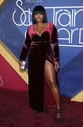 Remy Ma bei den Soul Train Awards 2016 in Las Vegas / 061116<br /> <br /> *** Soul Train Awards 2016 Red Carpet at the Orleans Arena in Las Vegas, USA, November 6, 2016 ***