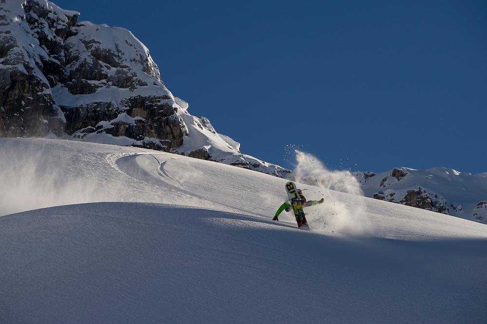 Blair Habenicht, Cortina, Italy.