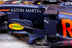 February 18, 2019 - Montmelo, BARCELONA, Spain - Aston Martin Red Bull Racing - Honda RB15 aerodinamic detail of sidepod during the Formula 1 2019 Pre-Season Tests at Circuit de Barcelona - Catalunya in Montmelo, Spain on February 18. (Credit Image: © AFP7 via ZUMA Wire)