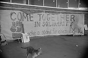 "1006-B039A-18. ""Conspiracy. March. Hoffman. Burn. February 21, 1970"" (Abbie Hoffman was convicted of conspiracy on February 18)"