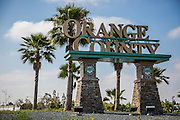 Welcome to Orange County Sign Monument