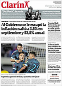 October 15, 2021 - LATIN AMERICA: Front-page: Today's Newspapers In Latin America