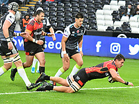 Rugby Union - 2019 / 2020 Guinness Pro14 - Ospreys vs. Southern Kings<br /> <br /> , at The Liberty Stadium.<br /> <br /> COLORSPORT/WINSTON BYNORTH