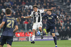 November 7, 2018 - Turin, Piedmont, Italy - Paulo Dybala (Juventus FC)  during the UEFA Champions League match between Juventus FC and Manchester United FC,  at Allianz Stadium on November 07, 2018 in Turin, Italy..Juventus FC lost 1-2 against Manchester United. (Credit Image: © Massimiliano Ferraro/NurPhoto via ZUMA Press)