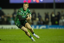 March 22, 2019 - Ireland - Gavin Thornbury of Connacht with the ball during the Guinness PRO14 match between Connacht Rugby and Benetton Rugby at the Sportsground in Galway, Ireland on March 22, 2019  (Credit Image: © Andrew Surma/NurPhoto via ZUMA Press)