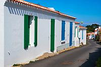 France, Vendée (85), Ile d'Yeu, Saint Sauveur // France, Vendée, Yeu island, Saint Sauveur village