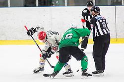 TadejCimzar of HDD Jesenice during Ice Hockey match between HK SZ Olimpija Ljubljana and HDD Jesenice in Round #24 of Alps Hockey League, on December 22, 2018 in Hala Tivoli, Ljubljana, Slovenia. Photo by Ziga Zupan / Sportida