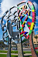 """Coming Together"" Sculpture @ San Diego Convention Center"
