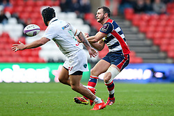 Luke Arscott of Bristol Rugby - Rogan Thomson/JMP - 11/12/2016 - RUGBY UNION - Ashton Gate Stadium - Bristol, England - Bristol Rugby v Pau - European Rugby Challenge Cup.