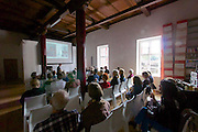 """Vienna, Austria. Zacherlfabrik. """"Illusion des Orients (Illusion of the Orient)"""" - open house and cultural activities at the historic Zacherlfabrik during the """"Tag des Denkmals (Day of the monument)""""."""