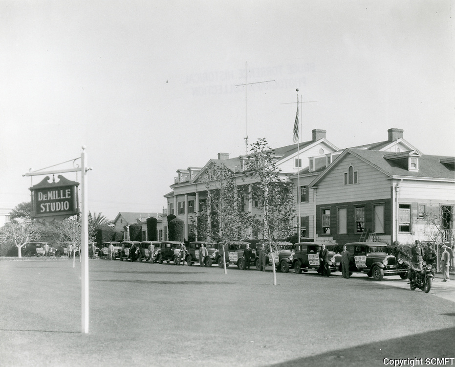 1927 DeMille Studios in Culver City