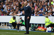 Jaap Stam, the Reading manager shouting from the touchline. EFL Skybet  championship match, Reading  v Huddersfield Town at The Madejski Stadium in Reading, Berkshire on Saturday 24th September 2016.<br /> pic by John Patrick Fletcher, Andrew Orchard sports photography.