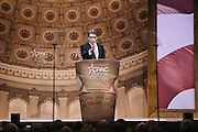 Texas Governor Rick Perry speaks during day two of the Conservative Political Action Conference (CPAC) at the Gaylord National Resort & Convention Center in National Harbor, Md.