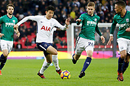 Tottenham Hotspur forward Son Heung-Min (7) during the Premier League match between Tottenham Hotspur and West Bromwich Albion at Wembley Stadium, London, England on 25 November 2017. Photo by Andy Walter.