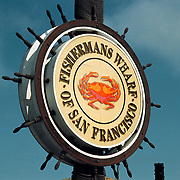 Reis Amerika, San Francisco, logo Fishermans Warf