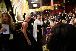 After winning the Oscar® for music written for motion pictures (original song), Lady Gaga and Melissa McCArthy during the live ABC Telecast of The 91st Oscars® at the Dolby® Theatre in Hollywood, CA on Sunday, February 24, 2019.