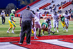 16 April 2021: Champaign Central Maroons at University High Pioneers at Hancock Stadium for a boys football game <br /> <br /> <br /> 34
