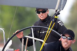 Torvar Mirsky during day 2 of Match Race Germany. World Match Racing Tour. Langenargen, Germany. 21 May 2010.